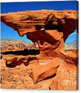 Sandstone Landscape Canvas Print