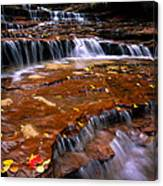 Sandstone Ledge Canvas Print