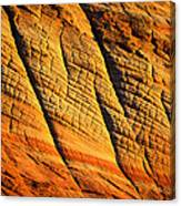 Sandstone Of Time Canvas Print