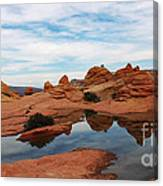 Sandstone Reflections 2 Canvas Print