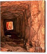 Sandstone Tunnel Canvas Print