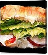Sandwich Time Canvas Print