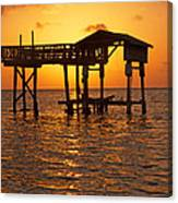 Sandy Bay Sunset Canvas Print
