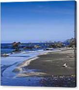 Sandy Beach On The North Coast Canvas Print