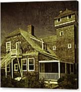 Sandy Hook Beach Home Canvas Print