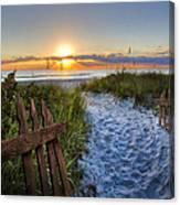 Sandy Trail Canvas Print