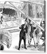 Sanger's Circus, 1884 Canvas Print