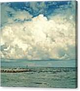 Sanibel Island Clouds Canvas Print
