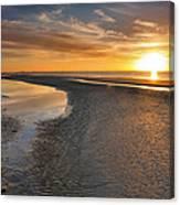 Sanibel Sunrise Xxi Canvas Print