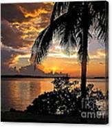 Sanibel Sunset Canvas Print