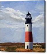 Sankaty Head Lighthouse Nantucket Massachusetts Canvas Print