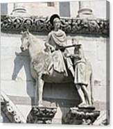Sankt Martin Statue Lucca Canvas Print