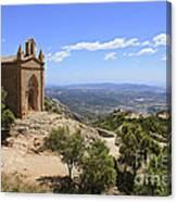 Sant Joan Chapel Spain Canvas Print