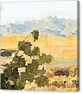 Santa Ana View Canvas Print