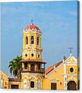 Santa Barbara Church Canvas Print