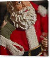 Santa Claus - Antique Ornament - 02 Canvas Print