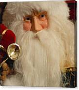 Santa Claus - Antique Ornament - 17 Canvas Print