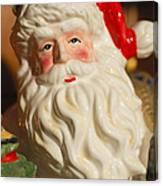 Santa Claus - Antique Ornament - 19 Canvas Print