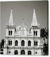 Santa Cruz Basilica In Cochin Canvas Print