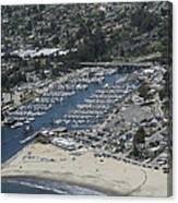 Santa Cruz Harbor Canvas Print