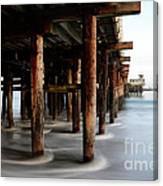 Santa Cruz Pier California Canvas Print