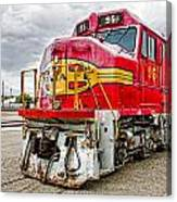 Santa Fe 95 In Retirement Canvas Print