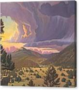 Santa Fe Baldy Canvas Print