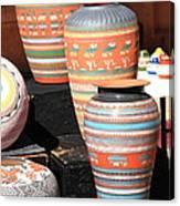 Santa Fe Pottery Canvas Print