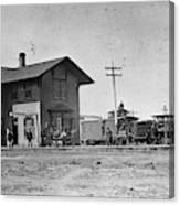 Santa Fe Railway, 1883 Canvas Print