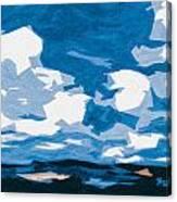 Santa Fe Skies Canvas Print