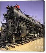 Santa Fe Steam Canvas Print