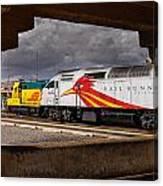 Santa Fe Train Canvas Print