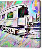 Santa Fe Train Number 37 Canvas Print