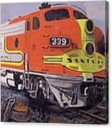 Santa Fe Western Canvas Print