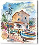 Santa Flavia 01 Canvas Print