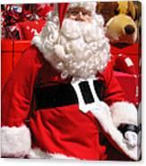 Santa Is Ready Canvas Print
