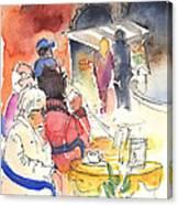 Santa Margherita In Italy 10 Canvas Print