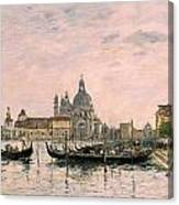 Santa Maria Della Salute And The Dogana Canvas Print