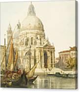 Santa Maria Della Salute Canvas Print
