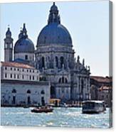 Santa Maria Della Salute Surrounded By Sparkling Waters Canvas Print