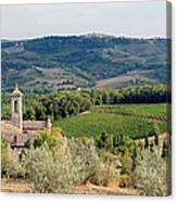 Santa Maria Novella Priory Tuscany Canvas Print