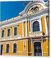 Santa Marta City Hall Canvas Print