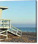 Santa Monica Lifeguard Station Canvas Print