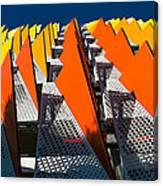 Santa Monica Parking Canvas Print