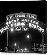 Santa Monica Pier 1 Canvas Print