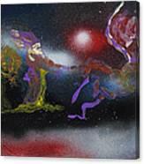 Santa Magic Canvas Print