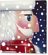 Santa Nutcracker Canvas Print