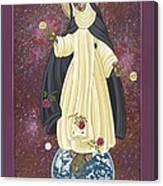 Santa Rosa Patroness Of The Americas 166 Canvas Print