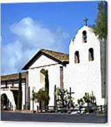 Santa Ynez Mission Solvang California Canvas Print