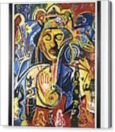 Santana Album Cover Canvas Print